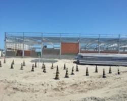 Obras do estaleiro EBR atingem patamar de 40%
