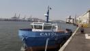 Embarca��o com pane nos motores � resgatada ap�s ficar � deriva na altura de Guaruj�