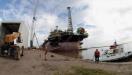 Pioneira do polo naval de Rio Grande est� em risco