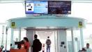 Monitores do aeroporto Santos Dumont (RJ) t�m mensagens em Libras