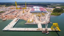 Lideran�as pol�ticas da Bahia se unem em defesa da Enseada Ind�stria Naval