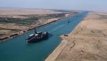 Egito prepara amplia��o do Canal de Suez para diversificar economia